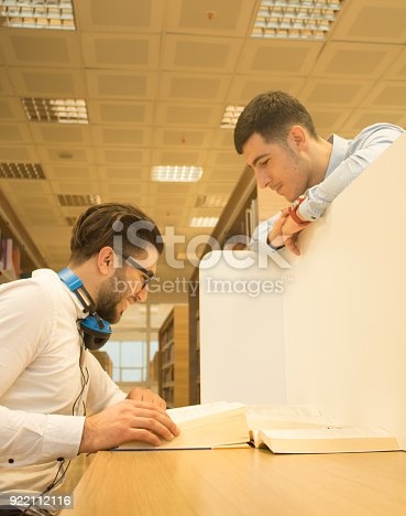 istock Friends working in the course 922112116