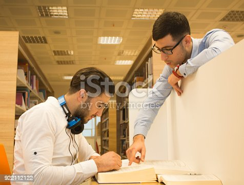 istock Friends working in the course 922112122