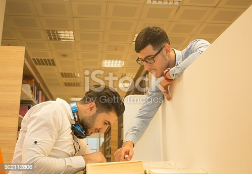 istock Friends working in the course 922112806