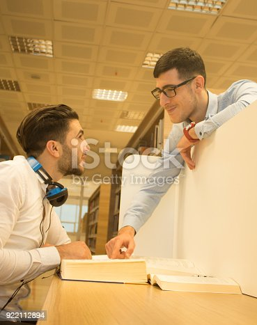 istock Friends working in the course 922112894