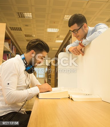 istock Friends working in the course 922113158