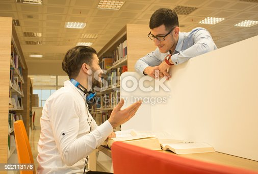 istock Friends working in the course 922113176