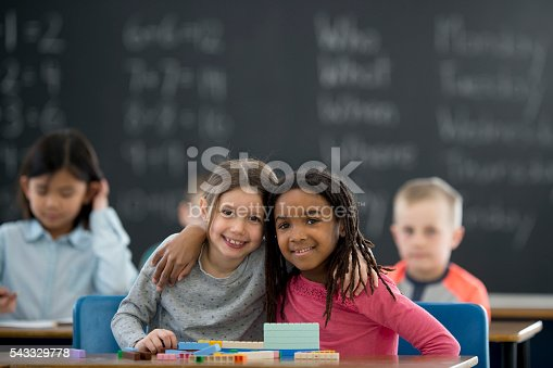 istock Friends Working Together in Class 543329778
