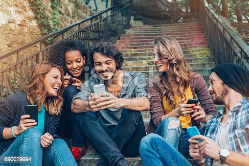 istock Friendship and networking 690029694