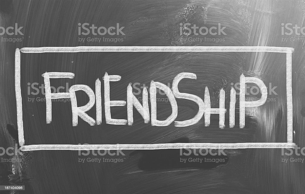 Friendship Concept royalty-free stock photo