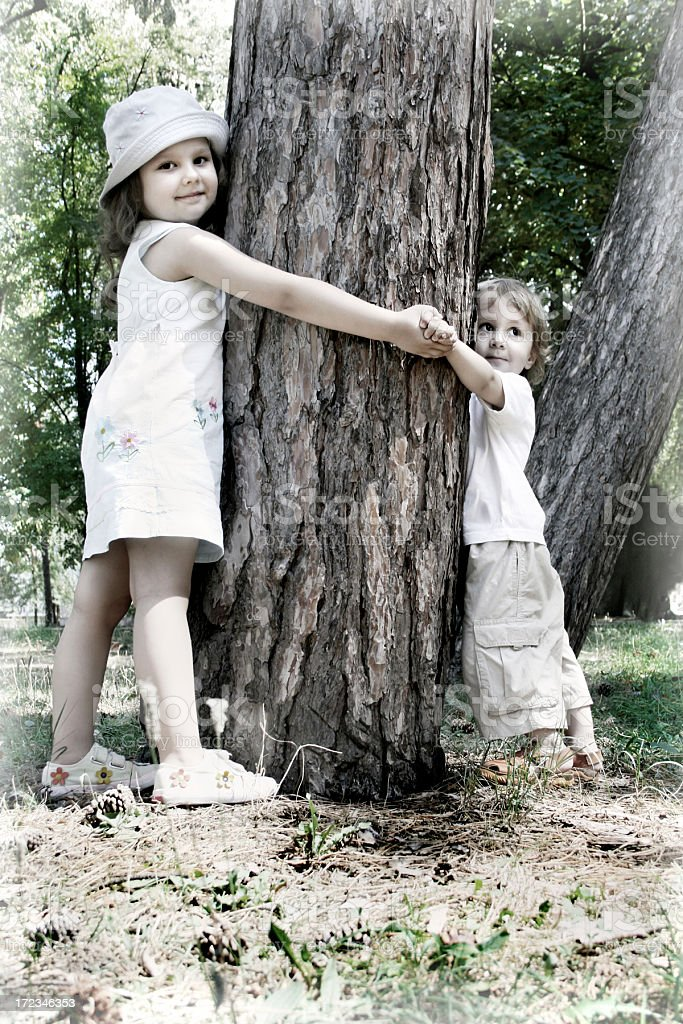 Friendship forever royalty-free stock photo