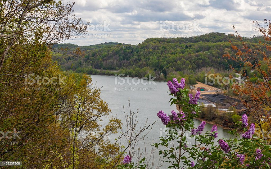Friendship Hill National Historic Site stock photo