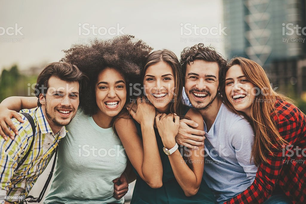 Friendship stock photo