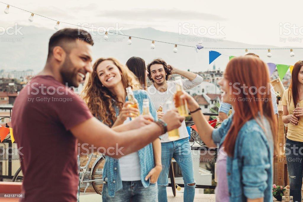Freundschaft-toast – Foto