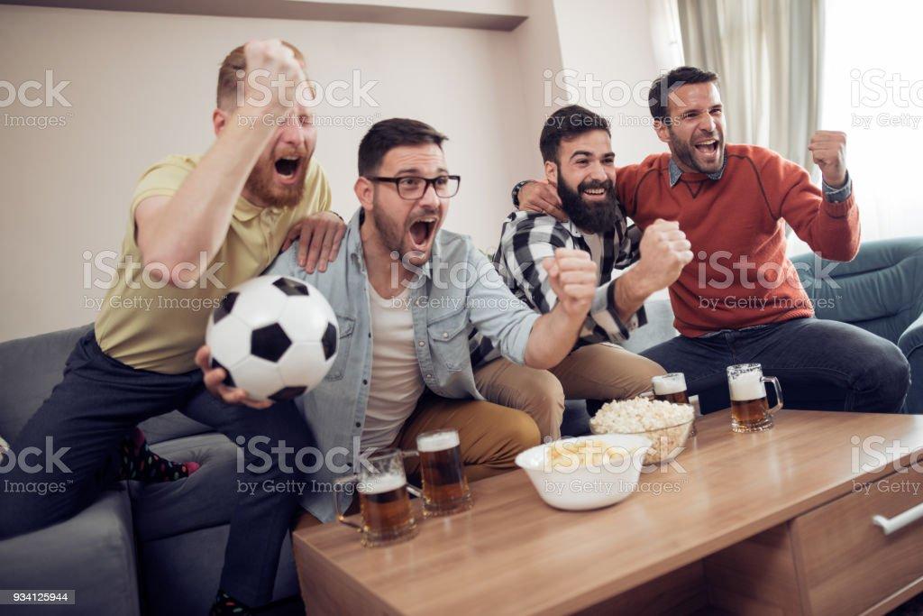 Freundschaft, Sport, Menschen und Entertainment-Konzept – Foto
