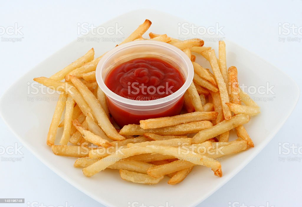 fries royalty-free stock photo