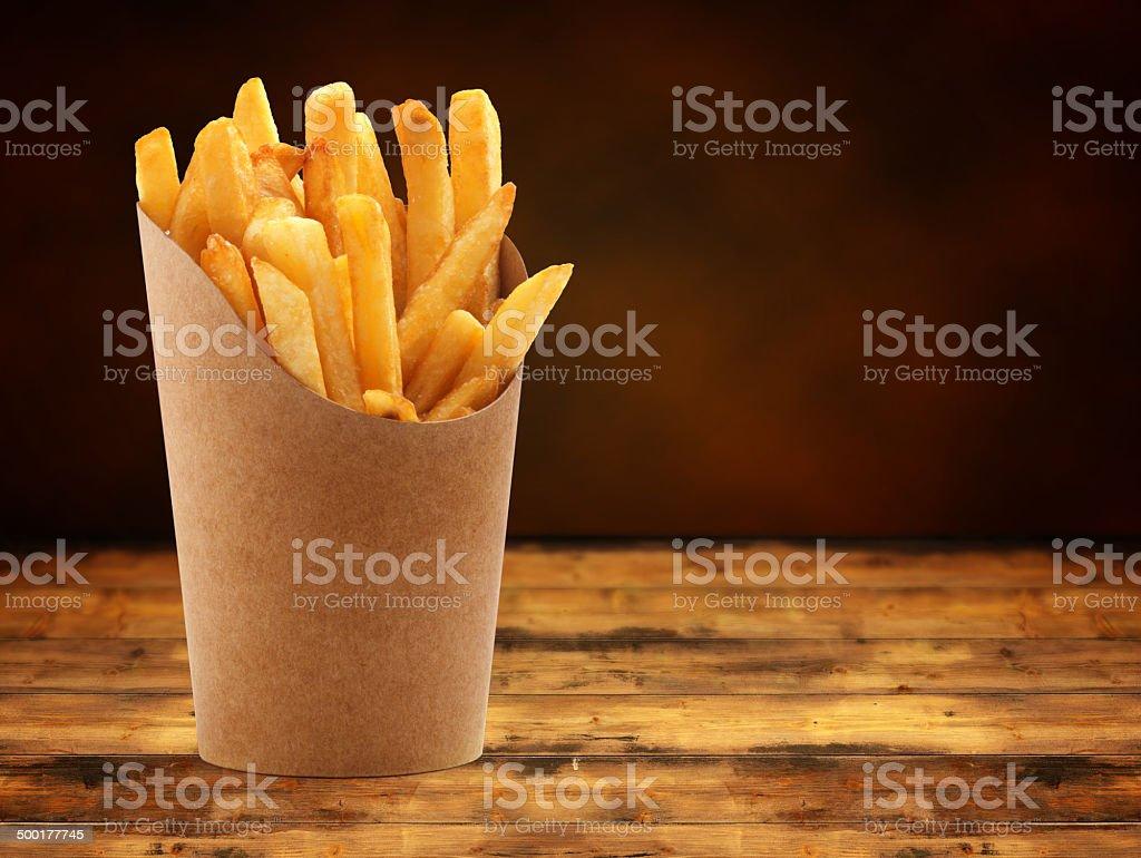 fries stock photo