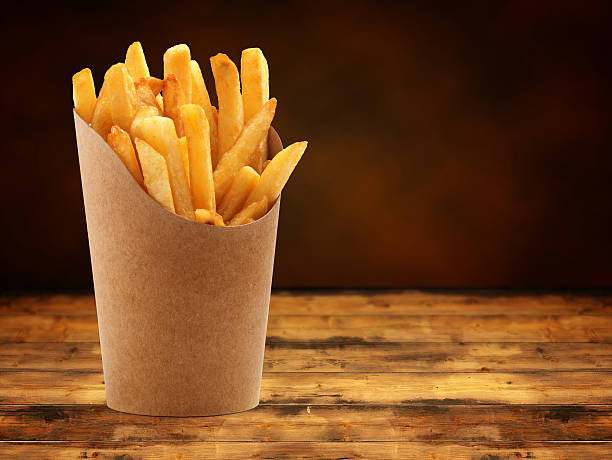 fries stock photo