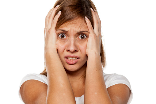 Frightened And Shocked Stock Photo - Download Image Now ...