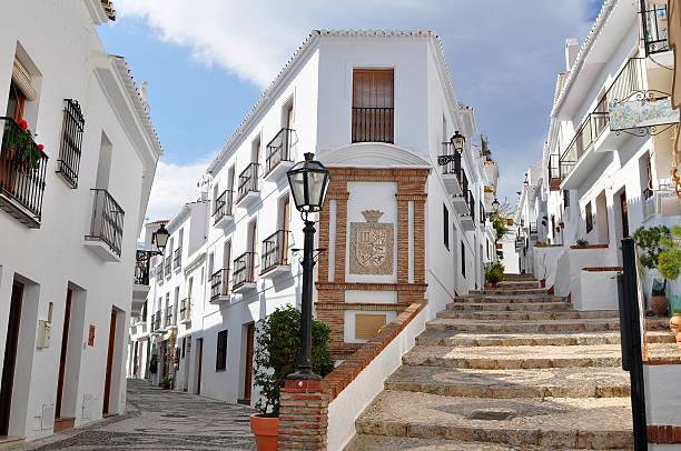 Frigiliana village,Andalusia,Spain stock photo