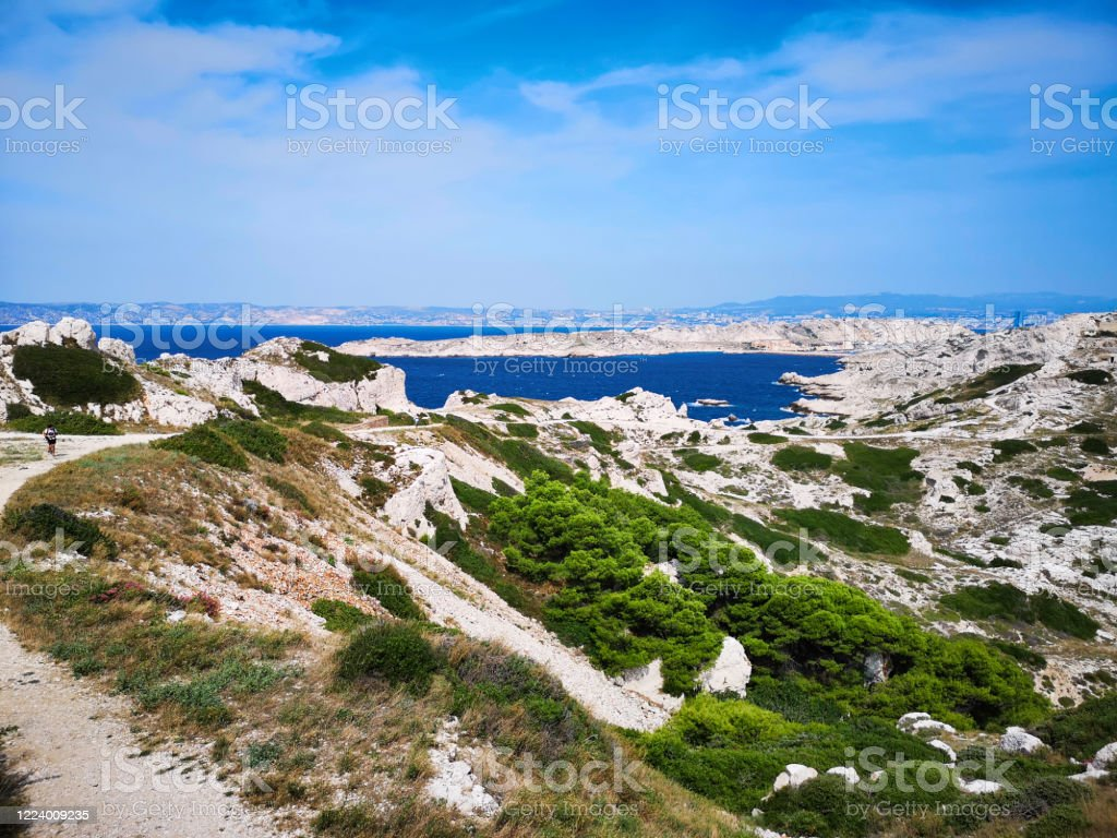 Frioul Islands one of the district in Marseille - Royalty-free Architecture Stock Photo