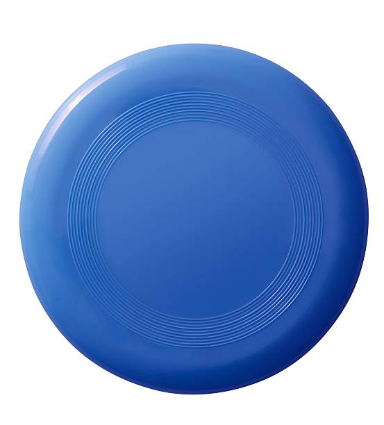 Frisbee (isolated with clipping path over white background) Frisbee (isolated with clipping path over white background) plastic disc stock pictures, royalty-free photos & images