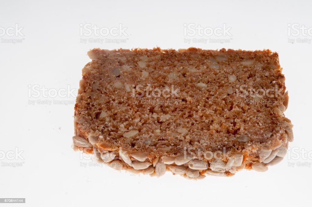 Frisch gebackenes Mehrkornbrot stock photo