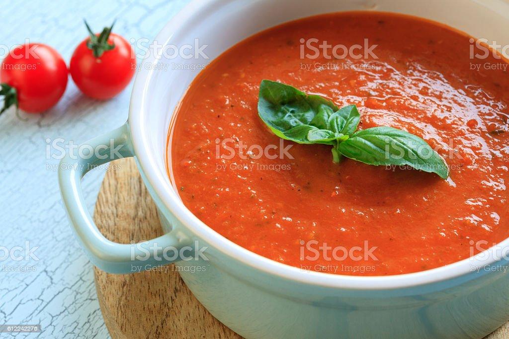 frische tomatensuppe – Foto