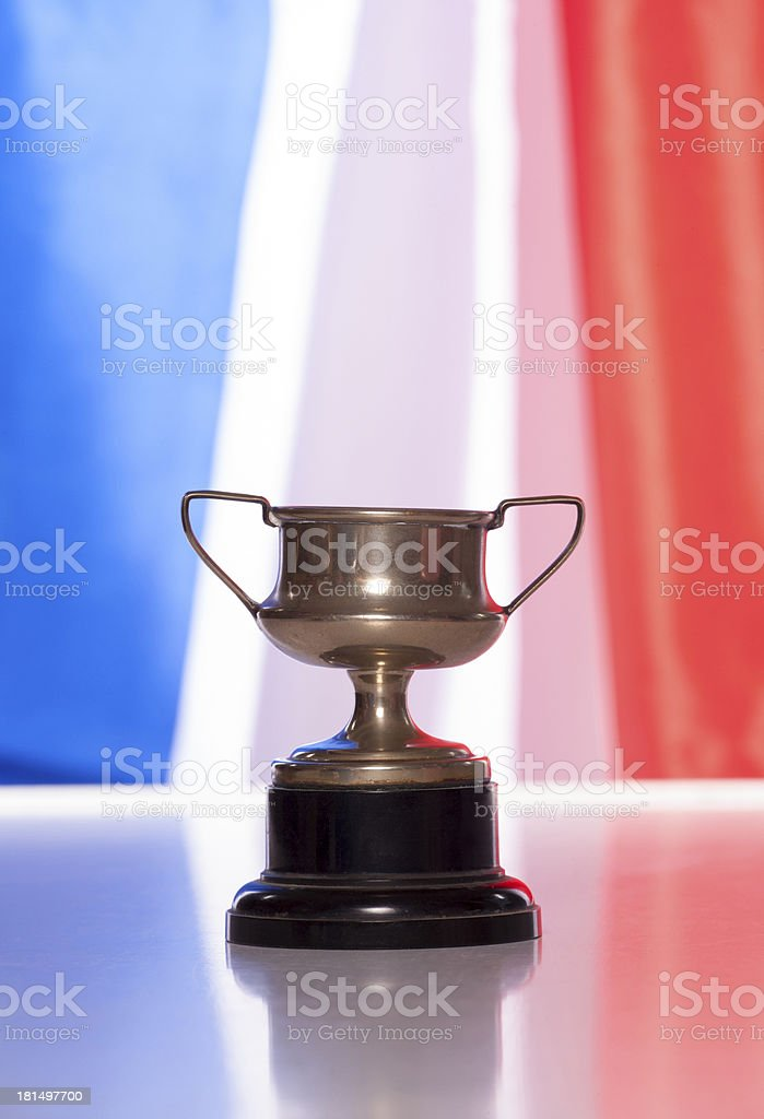 Frnech trophy royalty-free stock photo