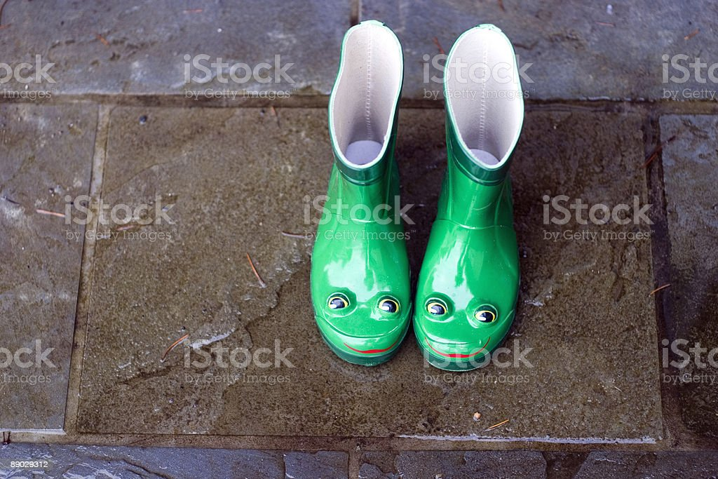 Frog Boots royalty-free stock photo