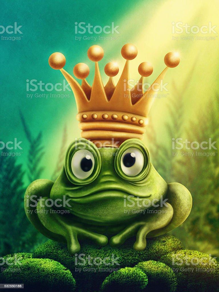 Frog prince - Lizenzfrei Abstrakt Stock-Foto