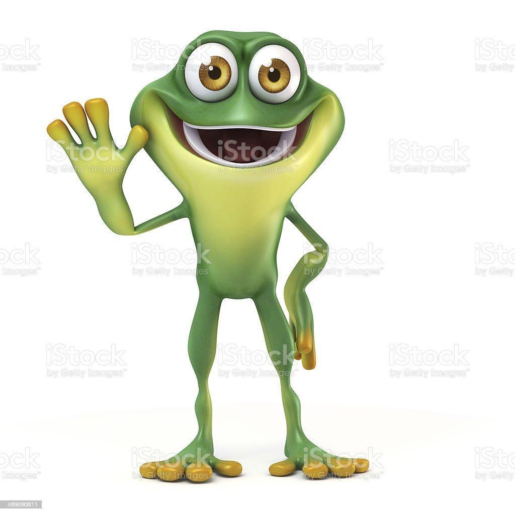 Frosch Hallo Sagen Stock-Fotografie und mehr Bilder von Amphibie ...