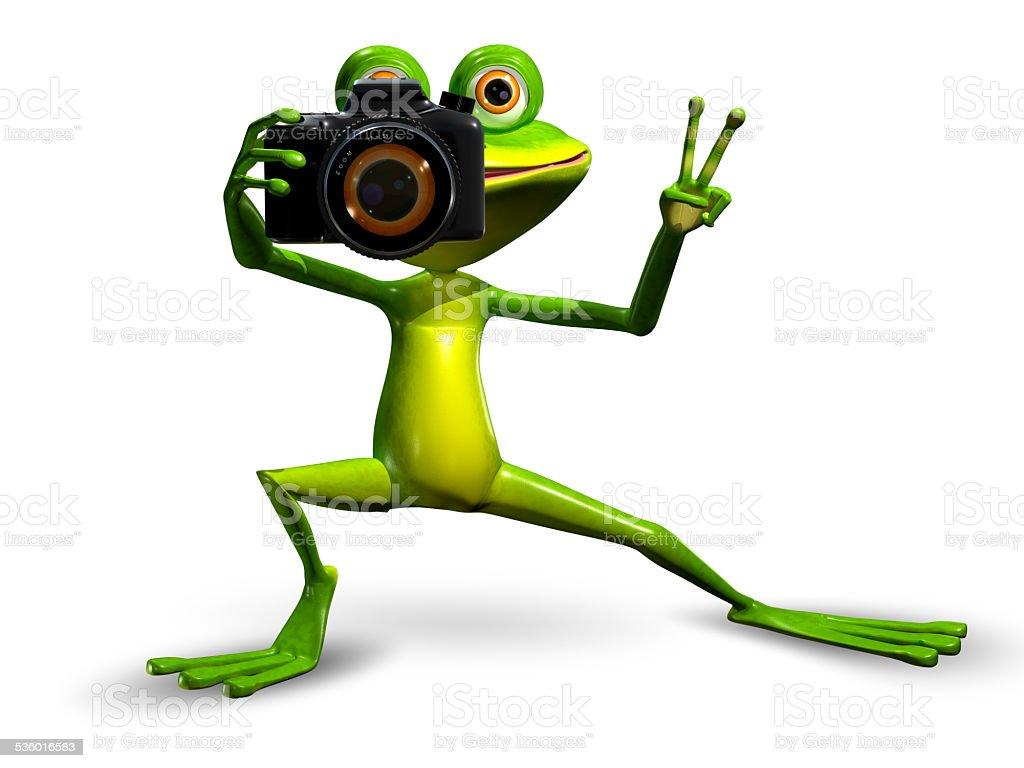 Frosch Mit Der Kamera Stock-Fotografie und mehr Bilder von 2015   iStock