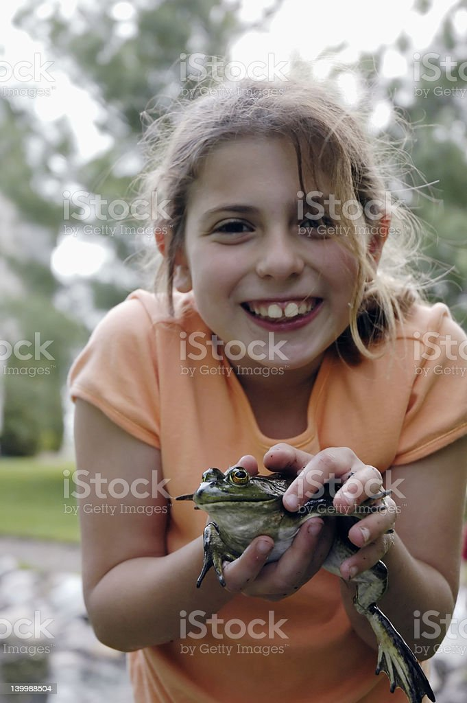 froggie stock photo