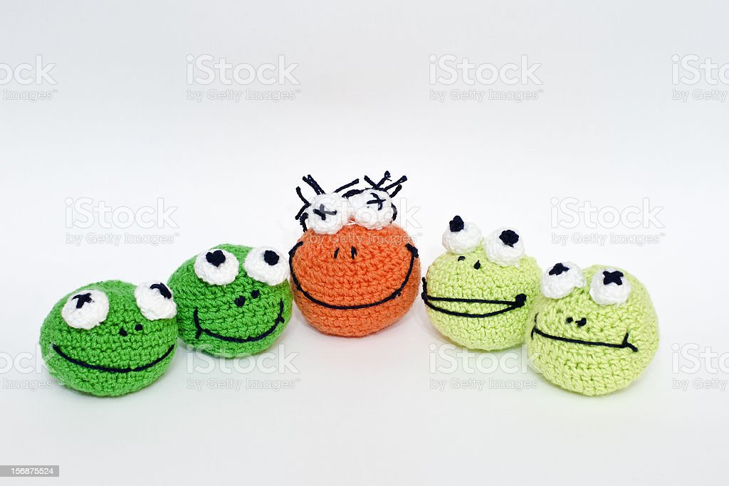 frogs royalty-free stock photo