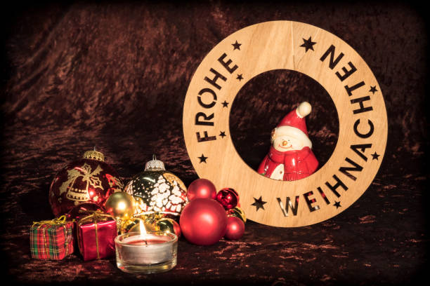 Braune Christbaumkugeln.Samt Stock Photos Pictures Royalty Free Images Istock