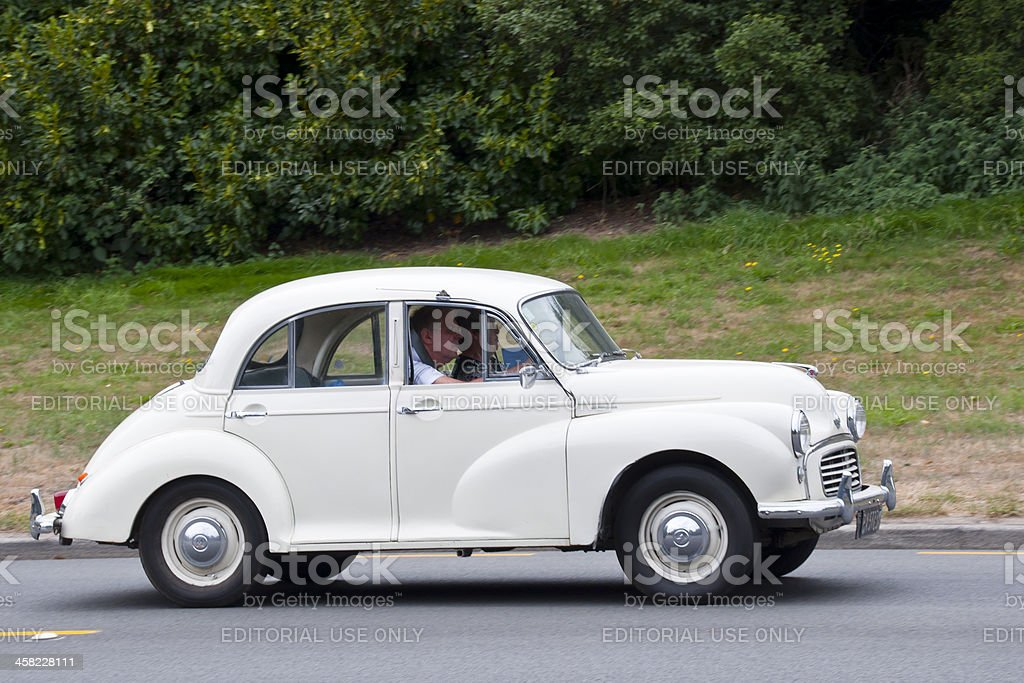 MORRIS MINOR from 1961 royalty-free stock photo
