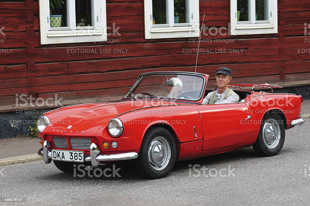 TRIUMPH SPITFIRE 4 from 1963 royalty-free stock photo