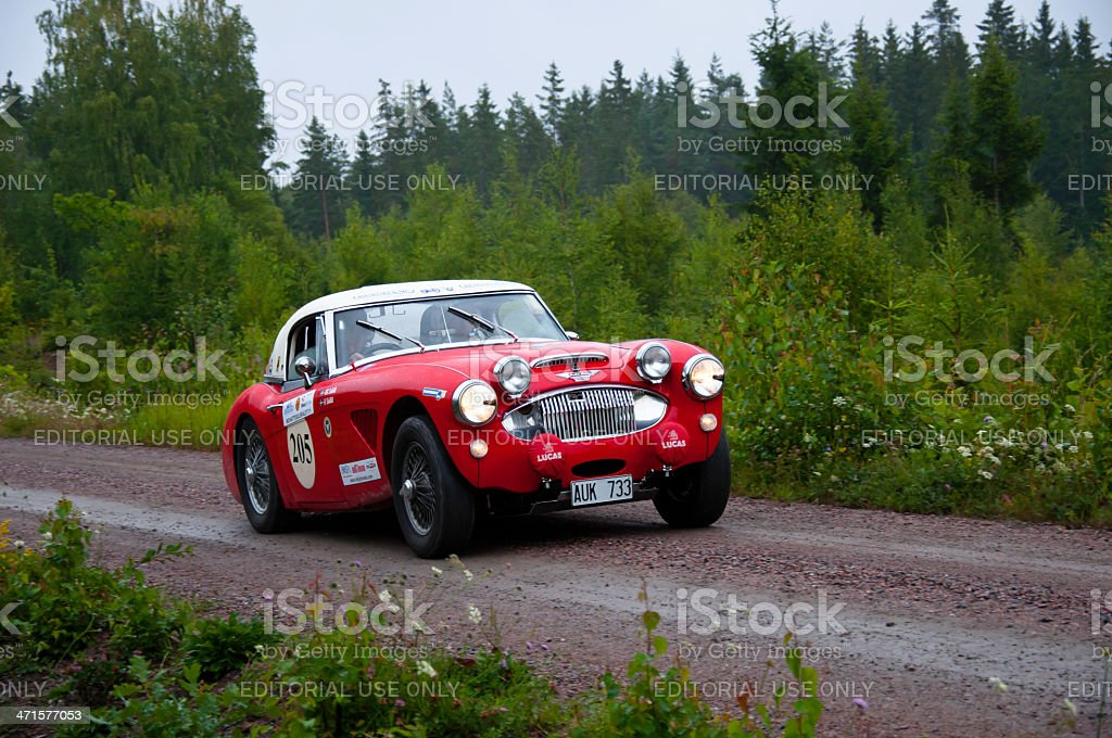 AUSTIN HEALEY 3000 MKIII from 1964 royalty-free stock photo