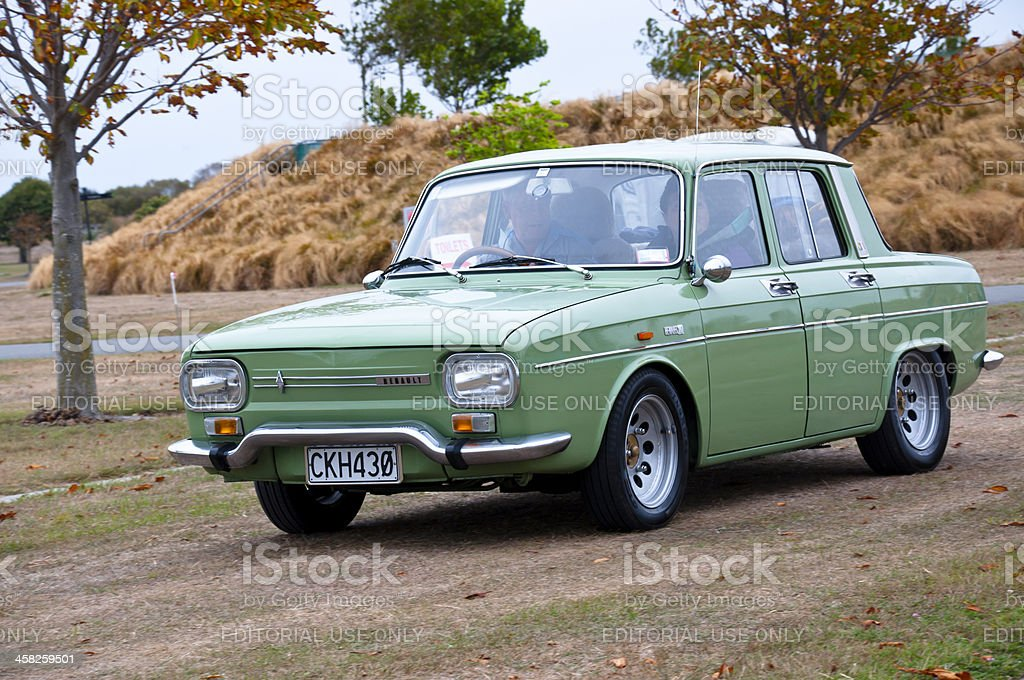 RENAULT R10 1300 from 1970 stock photo