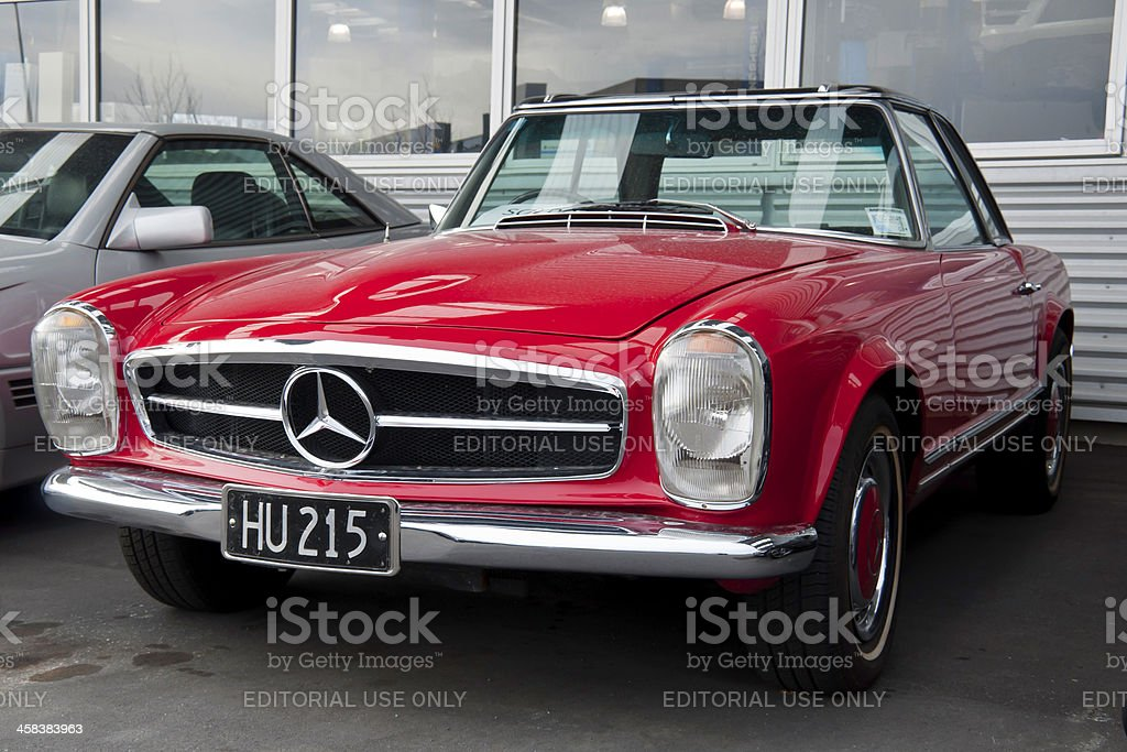 MERCEDES-BENZ 280 SL from 1971 stock photo