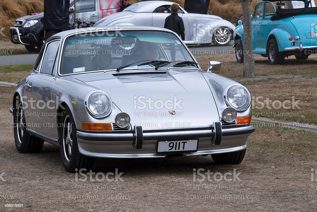 PORSCHE 911T from 1972 royalty-free stock photo
