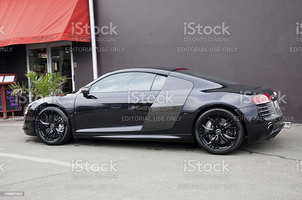 AUDI R8  NZ V10 PLUS S TRONIC from 2013 stock photo