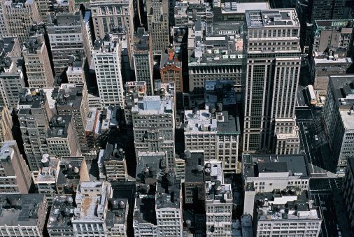 Nyc From Above Stock Photo - Download Image Now
