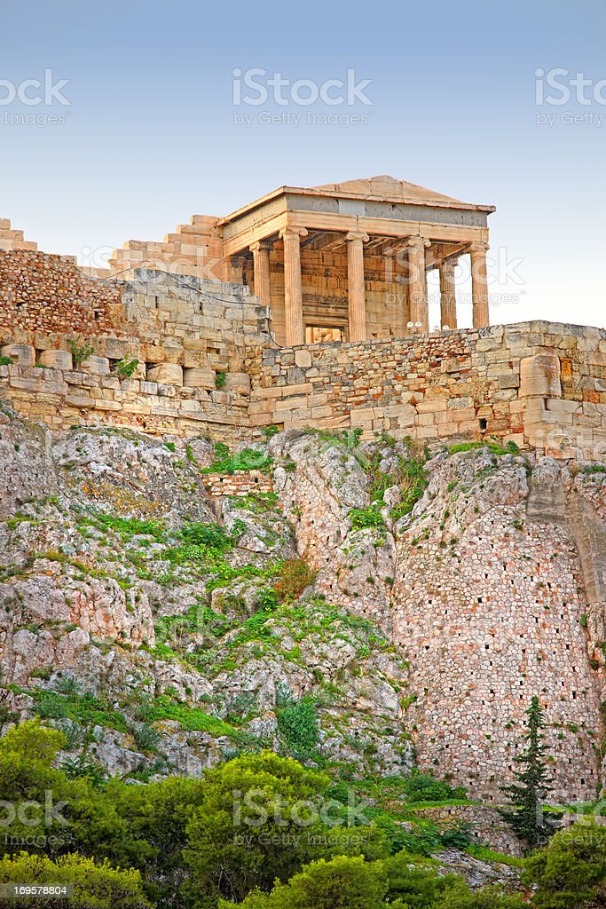 From Acropolis royalty-free stock photo