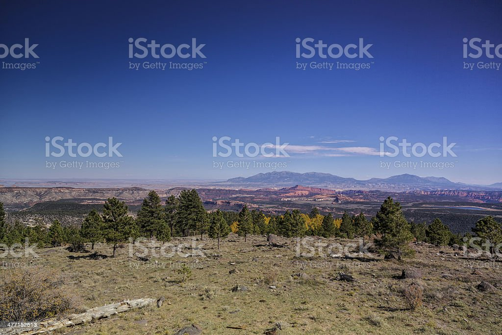 From Boulder Mountain to Capital Reef stock photo