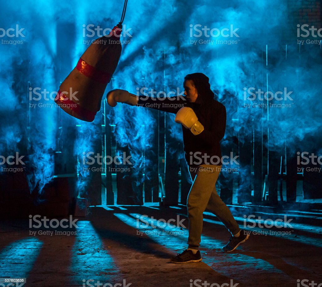 From Boxing To Future stock photo
