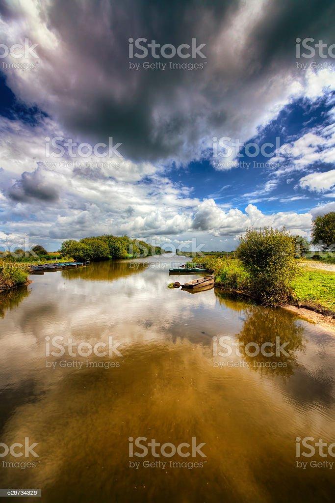 From Breca, Loire-Atlantique, France stock photo
