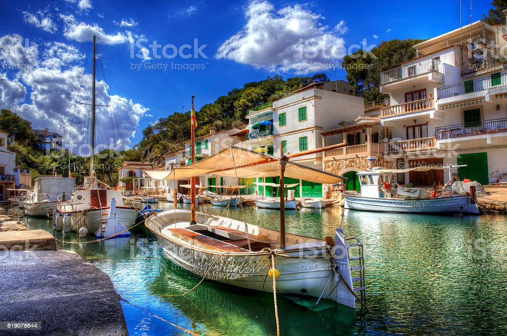 From Cala Figuera, Majorca - foto stock