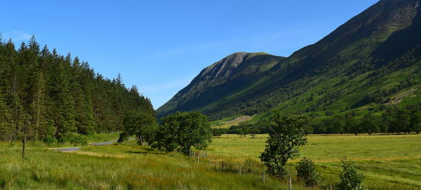From Glen to Nevis stock photo