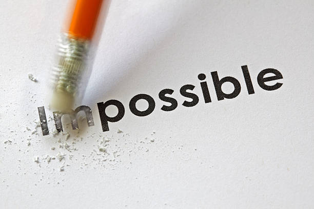 from impossible to the possible - possible stock photos and pictures