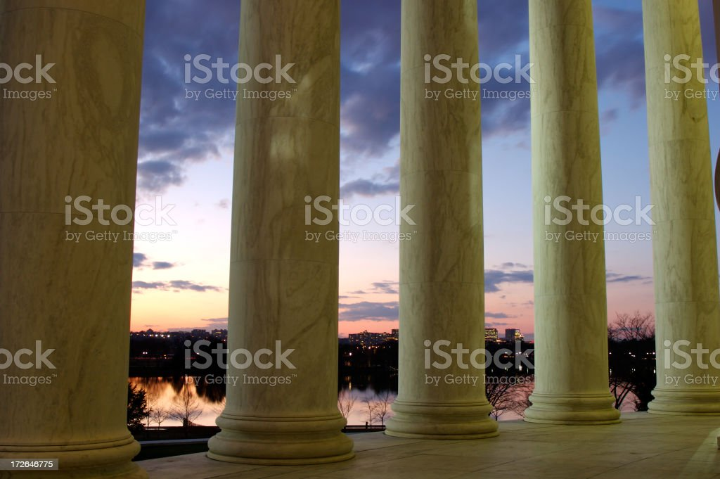 DC from Jefferson royalty-free stock photo