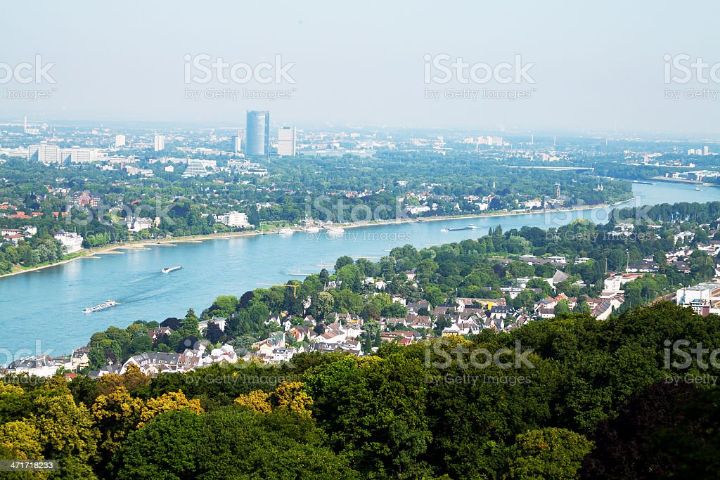 From Königswinter til Bonn royalty-free stock photo