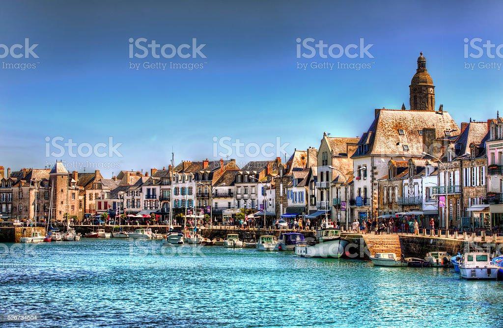 From Le Croisic, Loire-Atlantique, France stock photo