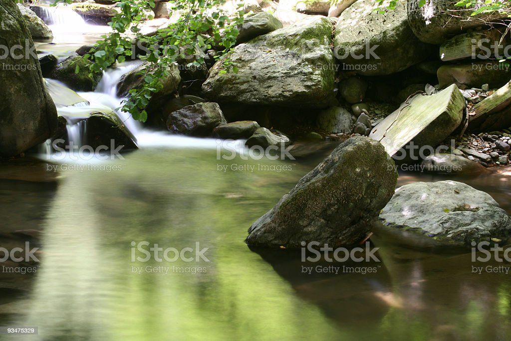 From noice to silence [landscape] royalty-free stock photo